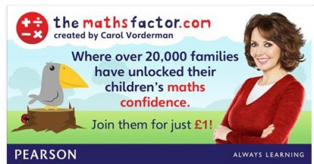Sign Up to The Maths Factor for Just £1